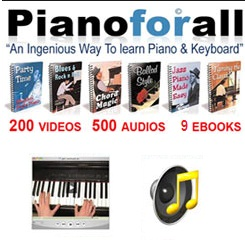 Piano for all piano learning lessons and course details
